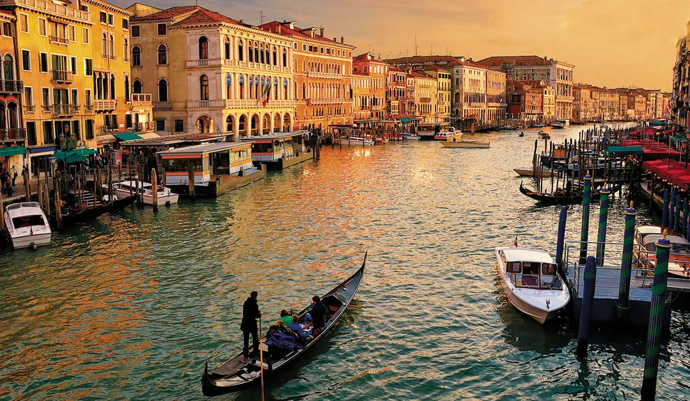 Tours regulares de Venecia